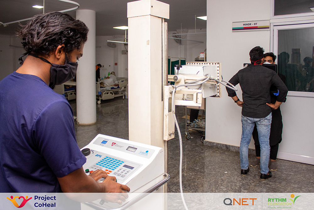QNET Contributes Fight Against COVID